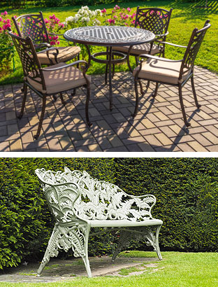 powder coat patio table chairs furniture syracuse