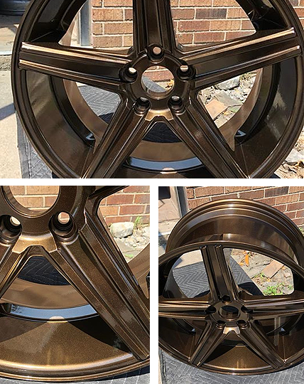 wheel rim refinishing - Syracuse NY