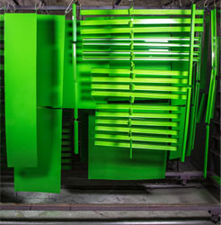 Commercial equipment powder coating Syracuse NY