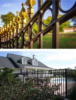 powder coat fencing gates railings syracuse new york