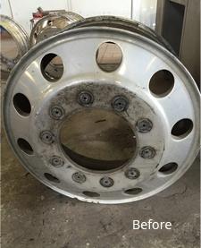 alloy truck wheel repair polishing Syracuse NY